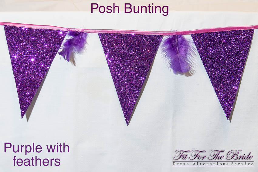 Fit For The Bride's new 'Posh Bunting' - click to see more information